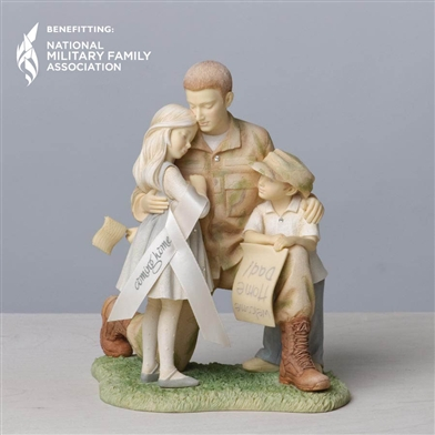 Soldier Coming Home to Kids Foundations Figurine, 4033864