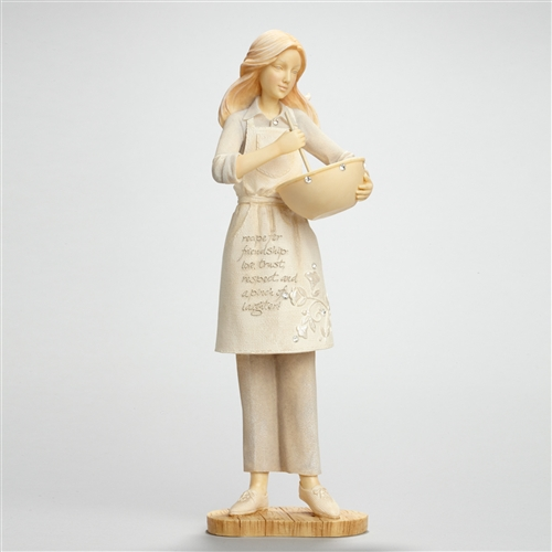 Foundations Cooking Friendship Figurine