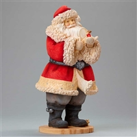 Foundations Santa with Mouse Heart of Christmas Figurine, 4046829