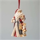 Foundations Masterpiece Santa Heart of Christmas Ornament, 4046856
