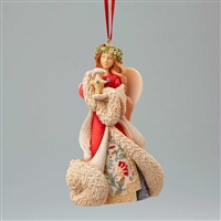 Foundations Angel with Star Heart of Christmas Ornament, 4046858