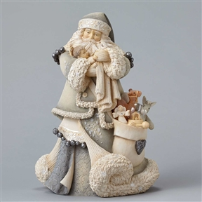Foundations Santa with Baby Jesus Masterpiece, 4047696