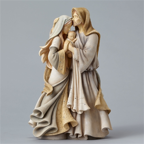 Foundations Holy Family Masterpiece Figurine