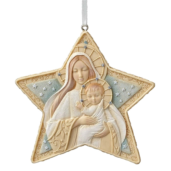 Foundations Christmas Star Hanging Ornament, 4047718