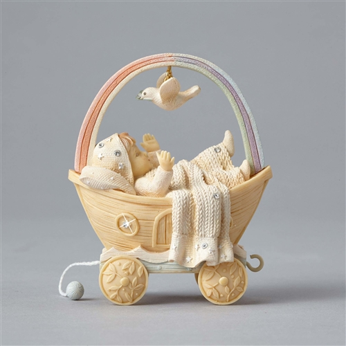 Foundations Birthday Ark Baby Figurine