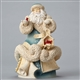 Foundations Santa with Cardinals Masterpiece Figurine