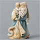 Foundations Santa with Child Figurine