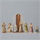 Foundations 8 pc. Nativity Set Figurine By Karen Hahn 4053520