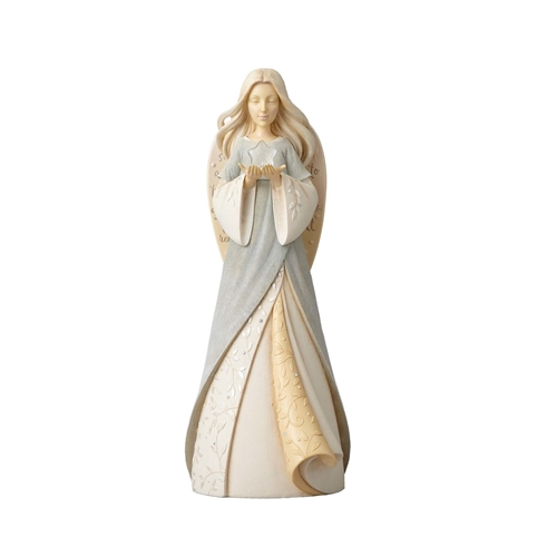 Foundations Lighted Bereavement Angel Figurine 4056502