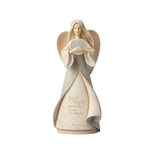Foundations Lullaby Angel Night Light Figurine