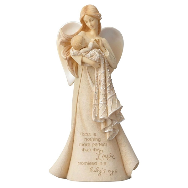 Foundations 'Love in Baby's Eyes' Angel Figurine