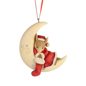 Tails With Heart Moonlit Nap Ornament, 6006979