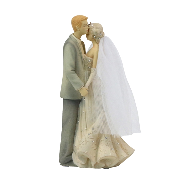 Foundations Bride and Groom Figurine by Karen Hahn 6002859