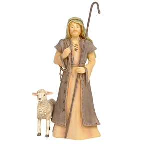 Foundations Nativity Shepherd Figurine, 6004078