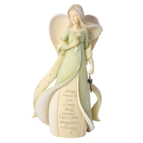 Foundations Family Blessings Angel Figurine, 6006379