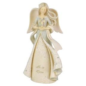 Foundations Easter Angel Figurine, 6006380