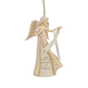 Foundations Breast Cancer Angel Ornament | 6007509