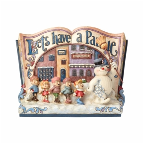 Frosty the Snowman Storybook Figurine by Jim Shore