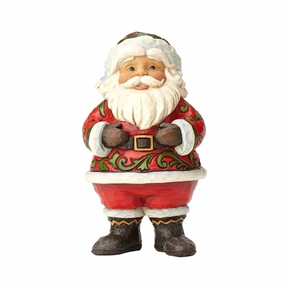 Heartwood Creek Pint Sized Jolly Santa Figurine by Jim Shore 4058802