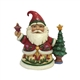 Heartwood Creek Pint Sized Santa with Tree Figurine by Jim Shore, 4058804
