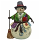Heartwood Creek Pint Sized Snowman with PatchCoat Figurine by Jim Shore, 4058805