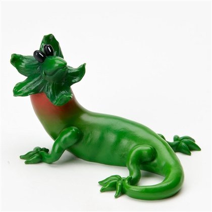 Chili Pepper Bearded Lizard - Home Grown Figurine