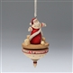 Santa Spinning Top - Foundations, Heart of Christmas Ornament, 4027179