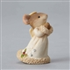 Heart of Christmas Mouse Angel Figurine by Foundations 4038671