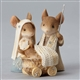 Heart of Christmas Mouse Nativity Figurine Set