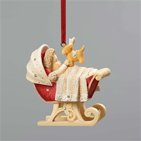 Heart of Christmas by Foundations, Baby's First Christmas Hanging Ornament