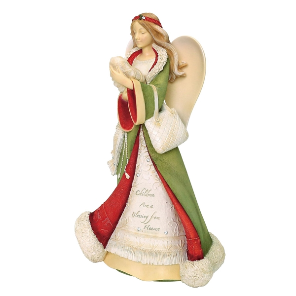 Heart of Christmas 'Children Are a Blessing' Angel Figurine, 6003907