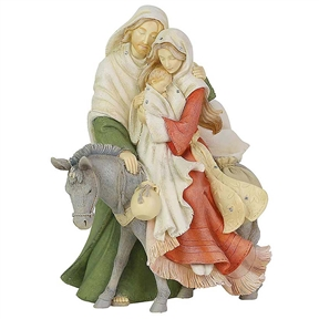 Heart of Christmas Holiday Holy Family Figurine, 6003907