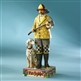 Heartwood Creek Fireman with Dalmatian Figurine by Jim Shore, 4007231