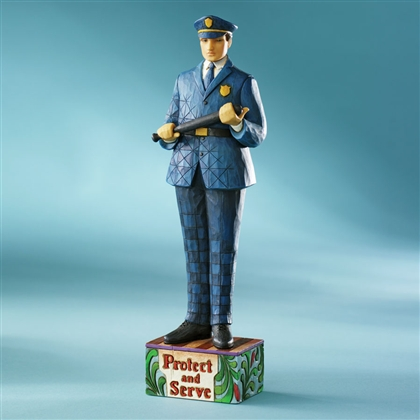 Heartwood Creek Old Fashioned Police Officer Figurine by Jim Shore 4007233