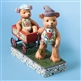 Heartwood Creek Bears Playing with Wagon Figurine by Jim Shore, 4009601