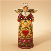 Heartwood Creek Williamsburg Welcome Angel Figurine by Jim Shore, 4021985