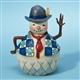 Heartwood Creek Small Snowman with Tie Figurine by Jim Shore, 4022930