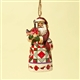 Heartwood Creek Canadian Santa Ornament by Jim Shore, 4022940