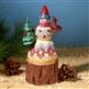 Heartwood Creek Lodge Snowman with Tree and Cardinal Figurine by Jim Shore, 4024281