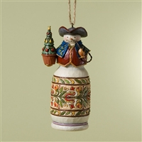 Heartwood Creek Colonial Williamsburg Snowman Ornament by Jim Shore, 4024737