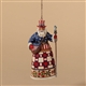 American Santa Ornament - Jim Shore / Heartwood Creek, 4026272