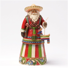 Heartwood Creek Santa's Around The World Mexican Figurine by Jim Shore | 4027705