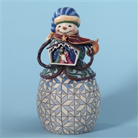 Heartwood Creek Snowman with Nativity Figurine by Jim Shore, 4027711