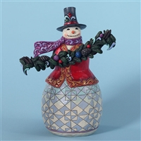 Heartwood Creek Evergreen Snowman Figurine by Jim Shore, 4027712