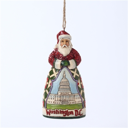 Heartwood Creek Washington D.C. Santa Claus Ornament by Jim Shore, 4027745