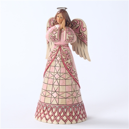 Heartwood Creek Breast Cancer Awareness Angel Figurine by Jim Shore, 4027760