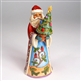 Heartwood Creek Santa with Little Christmas Tree Figurine by Jim Shore, 4027763