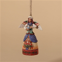 Colonial Williamsburg Angel Christmas Ornament - Jim Shore / Heartwood Creek, 4027826