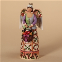 Colonial Williamsburg Christmas Angel - Jim Shore / Heartwood Creek Figurine, 4027828