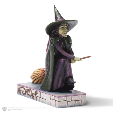 Wicked Witch of the West - Jim Shore, Heartwood Creek Wizard of Oz Figurine, 4031506